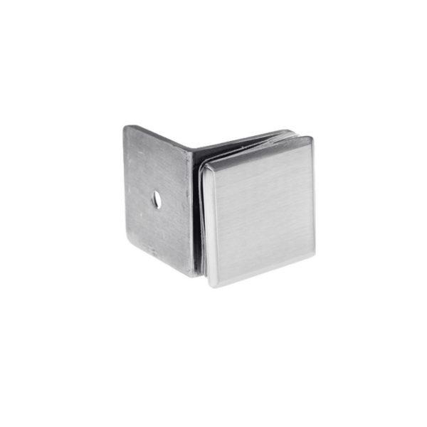 Коннектор для крепления стекла к стене с площадкой, стена-стекло 90 градусов GC03