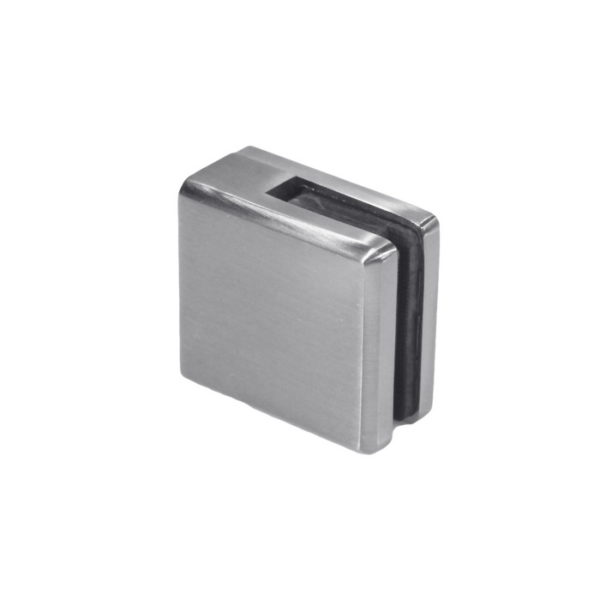 Коннектор держатель стекла для ограждений с фаской GC24
