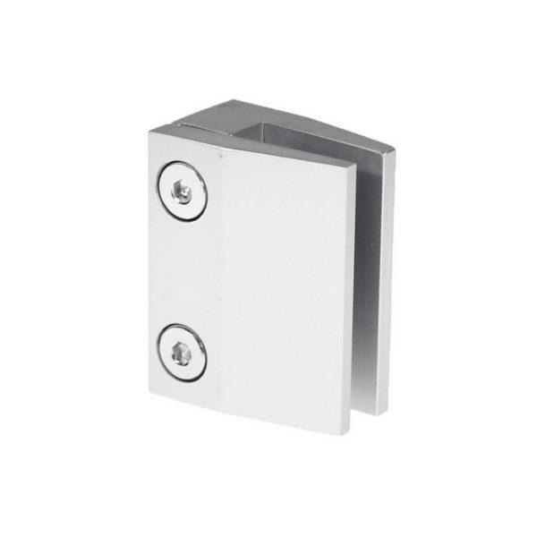 Коннектор держатель стекла для ограждений алюминиевый GC27