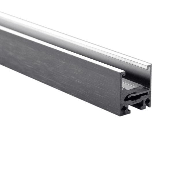 Двухкомпонентный алюминиевый профиль для перегородок 350 см GG11
