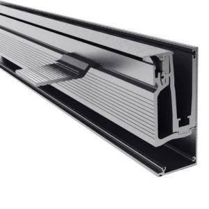 Профиль для стеклянных ограждений 200х49 мм GM06