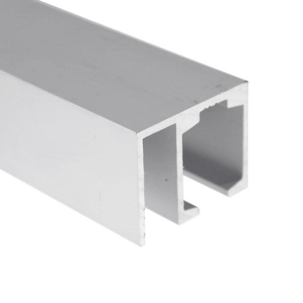 Профиль алюминиевый для раздвижной системы со стационарным полотном GT06