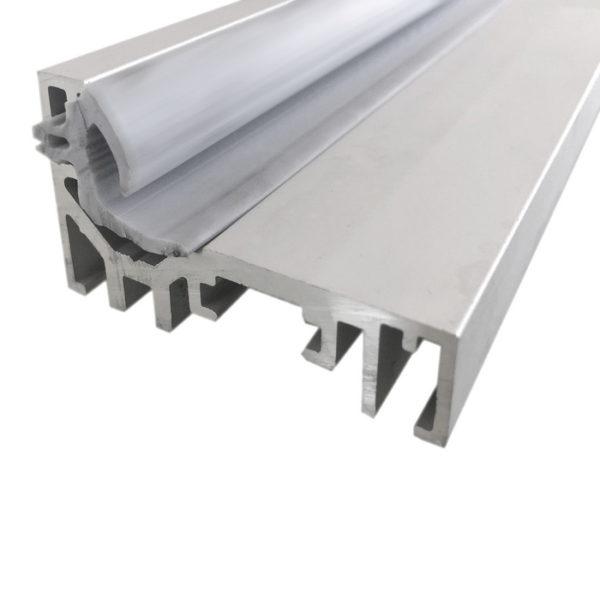 Комплект L-образной алюминиевой дверной коробка для стеклянных дверей GT11