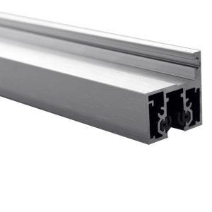 Комплект алюминиевой дверной коробки для установки в цельностеклянный проем GT12 купить