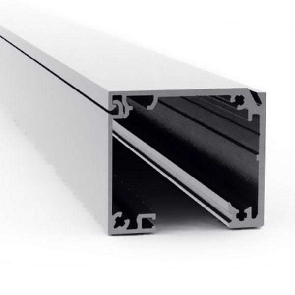 Профиль для раздвижной системы с доводчиками и LED подсветкой GT31