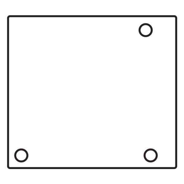 Торцевая заглушка к профилю раздвижной системы GT30EC LR