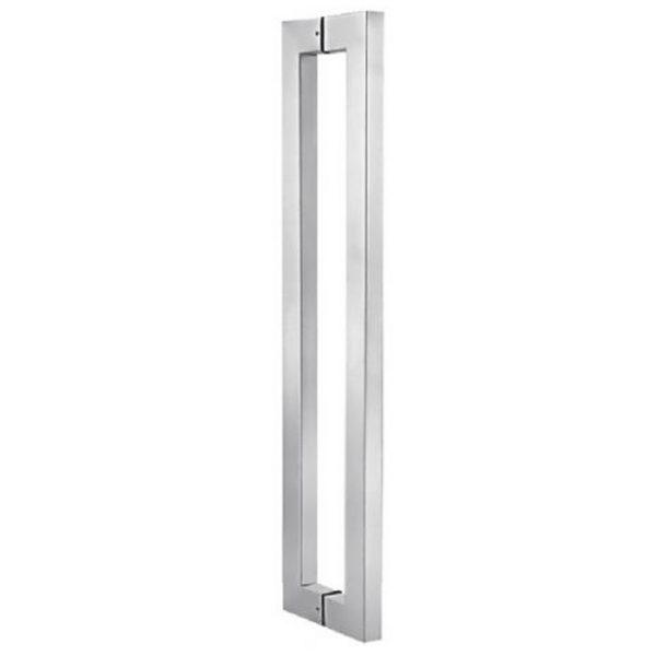 Дверная ручка прямоугольного сечения 25х38 мм, высота 144 см, HD03D