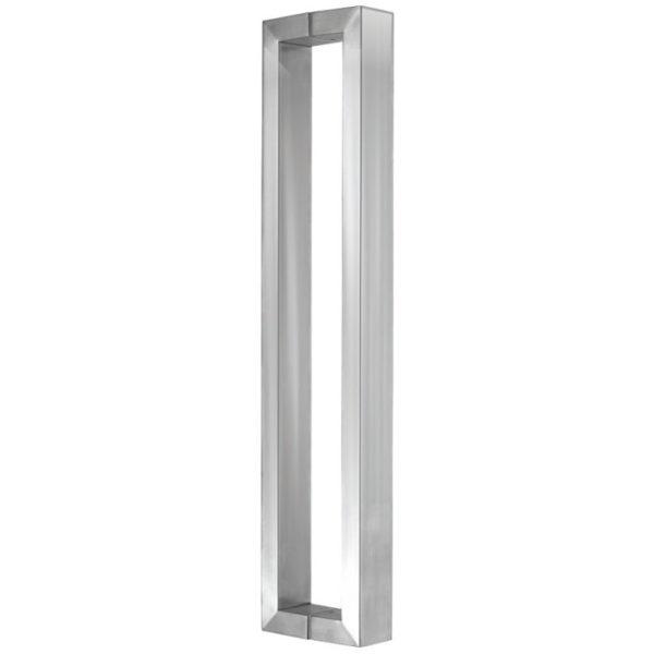 Дверная ручка прямоугольного сечения 38х25 мм, высота 64 см, HD13