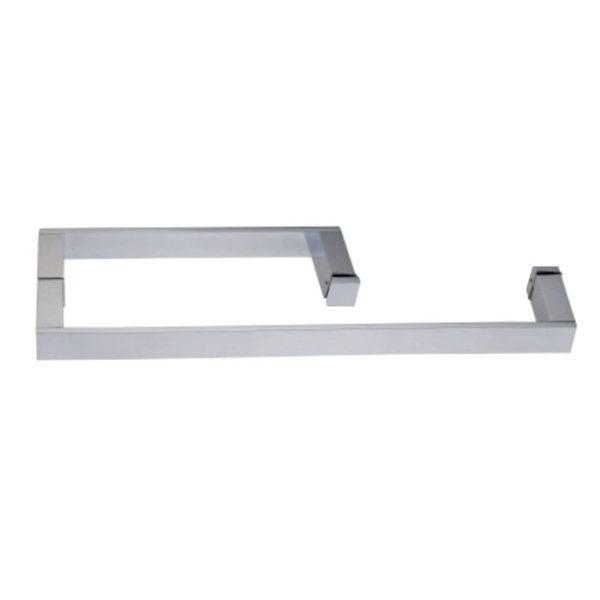 Дверная ручка с полотенце-держателем квадратного сечения HS10