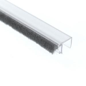 Профиль уплотнительный с фетром ПВХ S14