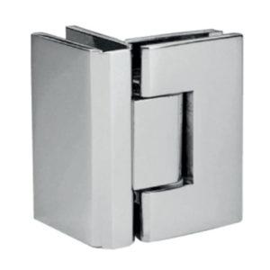 Петля стекло-стекло 90 градусов нержавеющая сталь SH37 купить