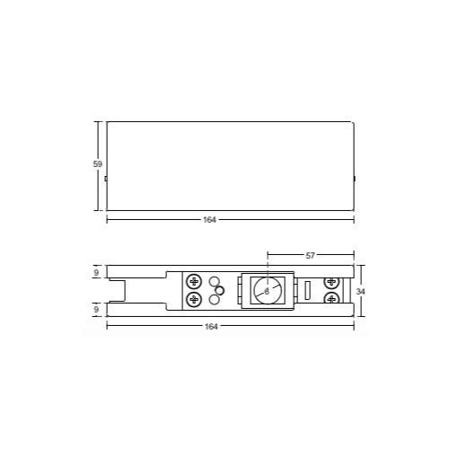 Нижняя петля со встроенным доводчиком, FH30