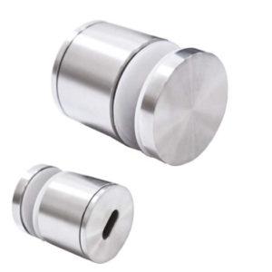 Точечное крепление для стеклянных ограждений с регулировкой диаметр 60 мм, AN13
