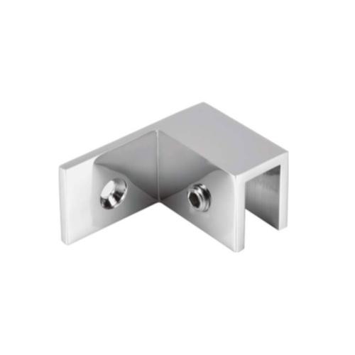 Коннектор регулируемый без вырезов в стекле 90 градусов, стекло-стена, правый, GC42R