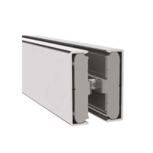Алюминиевый профиль горизонтальной декоративной накладки, GG08-S