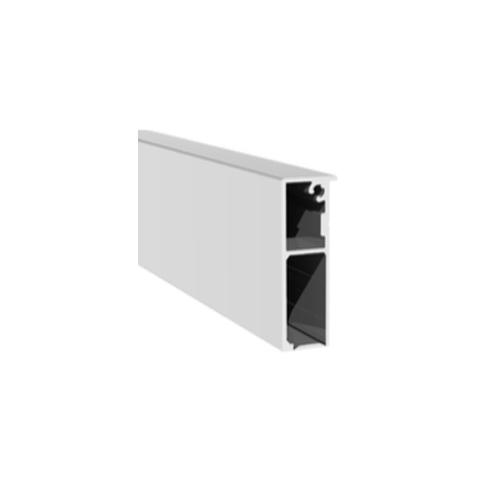 Профиль алюминиевый для крепления стационарного полотна раздвижной системы, GT31-3