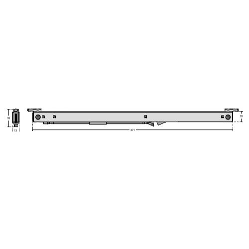 Автоматический доводчик полотен для раздвижной системы, RH31