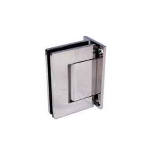 Петля стекло-стекло 180 градусов, (нержавеющая сталь), SH55