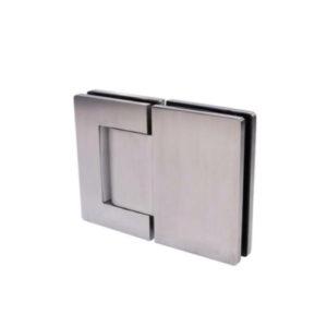 Петля стекло-стекло 180 градусов, (нержавеющая сталь), SH56